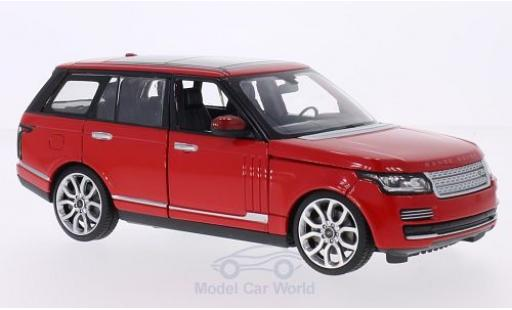 Land Rover Range Rover 1/24 Rastar red diecast model cars
