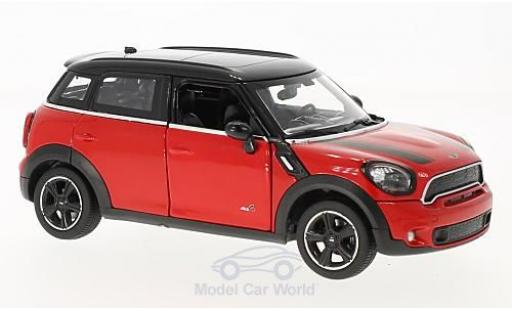 Mini Cooper 1/24 Rastar S Countryman (R60) red/black diecast model cars