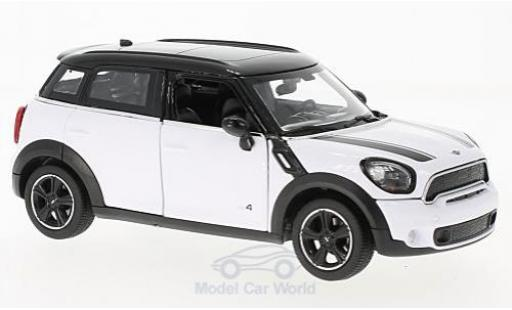 Mini Cooper 1/24 Rastar S Countryman (R60) white/black diecast model cars