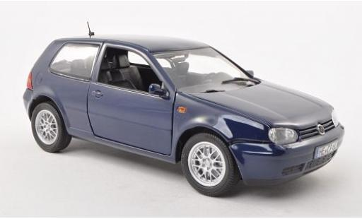 Volkswagen Golf 1/18 Revell IV blau 1997 sans Vitrine modellautos