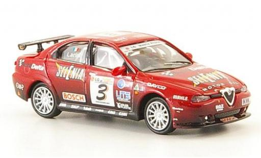 Alfa Romeo 156 1/87 Ricko GTA No.3 Selenia 2003 N.Larini miniature