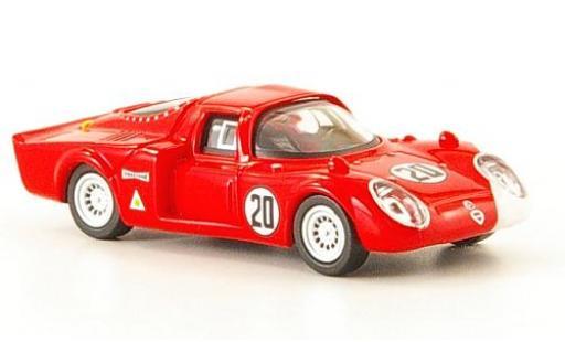 Alfa Romeo 33.2 1/87 Ricko No.20 Daytona 1968 diecast model cars
