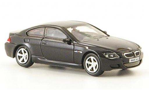 Bmw M6 1/87 Ricko black 2006 diecast model cars