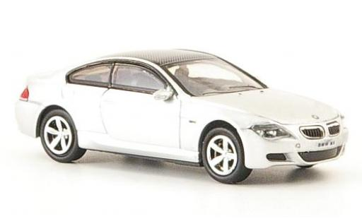 Bmw M6 1/87 Ricko grey 2006 diecast model cars