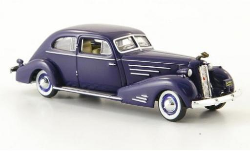 Cadillac V16 1/87 Ricko Aerodynamic Coupe bleue 1934 miniature