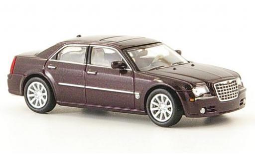 Chrysler 300C 1/87 Ricko HEMI SRT8 métallisé rouge miniature