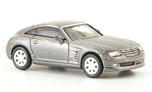 Chrysler Crossfire 1/87 Ricko Coupe metallise grise 2006 miniature