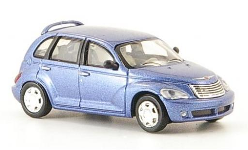 Chrysler PT Cruiser 1/87 Ricko metallise bleue 2006 miniature