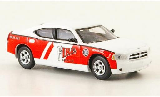 Dodge Charger 1/87 Ricko Fire Rescue Battalion Chief ohne Vitrine diecast