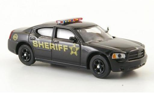 Dodge Charger 1/87 Ricko black Sheriff Polizei (USA) diecast