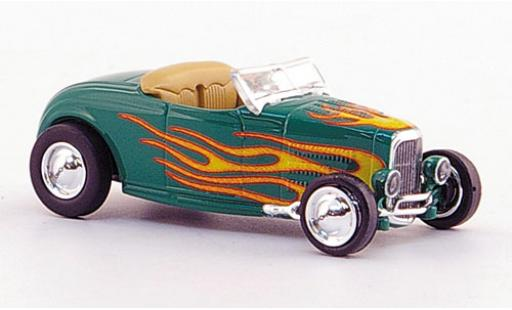 Ford Hot Rod 1/87 Ricko Roadster grün/Dekor 1932 modellautos