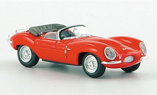 Jaguar XK 1/87 Ricko SS rouge 1956 miniature