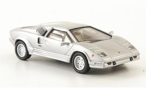 Lamborghini Countach 1/87 Ricko 25th Anniversary silber 1989 modellautos