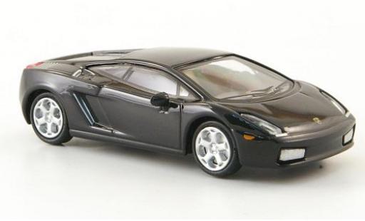 Lamborghini Gallardo 1/87 Ricko noire 2004 miniature