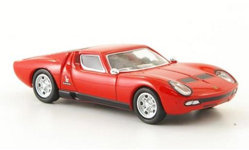 Lamborghini Miura 1/87 Ricko rouge 1966 miniature