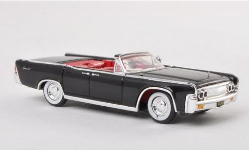 Lincoln Continental 1/87 Ricko Convertible noire 1963 miniature