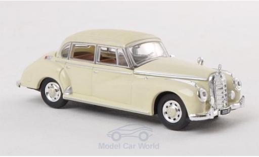 Mercedes 300 1/87 Ricko C Limousine beige 1955 ohne Vitrine miniature