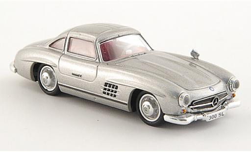 Mercedes 300 1/87 Ricko SL (W198) grigio miniatura