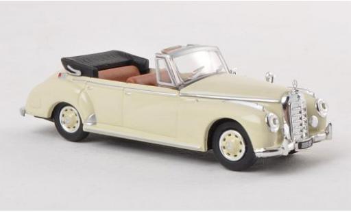 Mercedes 300 1/87 Ricko c (W186) Cabriolet beige 1955 miniatura