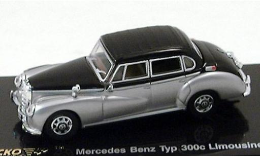 Mercedes 300 1/87 Ricko c (W186) grigio/nero 1955 miniatura