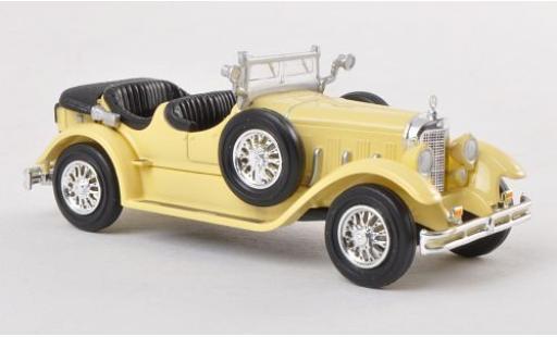 Mercedes Classe S 1/87 Ricko 630K beige 1927 diecast model cars