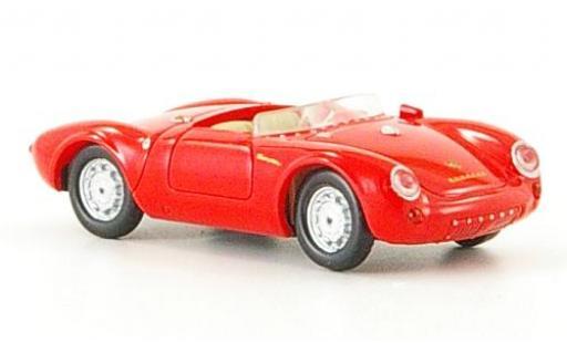 Porsche 550 1/87 Ricko Spyder red 1953 diecast model cars