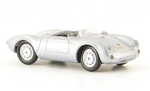 Porsche 550 1/87 Ricko Spyder grey 1953 diecast model cars