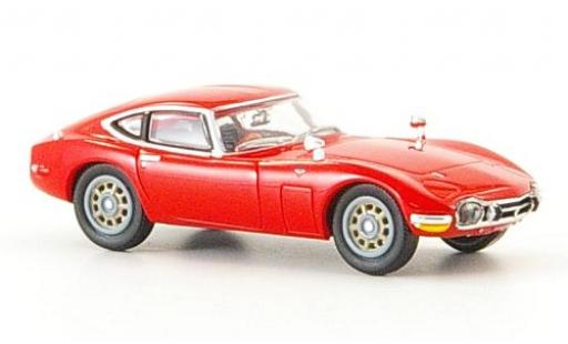 Toyota 2000 GT 1/87 Ricko red diecast model cars