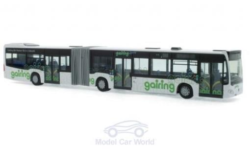 Mercedes Citaro 1/87 Rietze G Hybrid Gairing Omnibusverkehr Neu-Ulm 2015 miniature