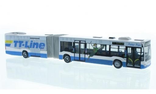 Mercedes Citaro 1/87 Rietze G Stadtverkehr Lübeck - TT Line 2015 diecast model cars