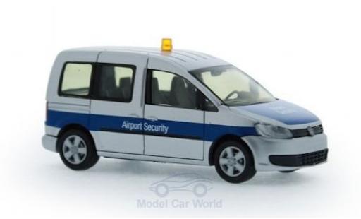 Volkswagen Caddy 1/87 Rietze Airport Security Düsseldorf 2011 diecast