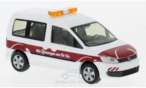 Volkswagen Caddy 1/87 Rietze Braunschweiger Verkehrs GmbH 2011 miniature