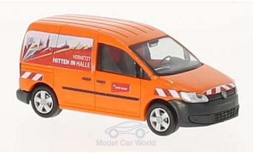 Volkswagen Caddy 1/87 Rietze Energieversorgung Halle Netz GmbH 2011 miniature