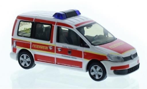 Volkswagen Caddy 1/87 Rietze Feuerwehr Höxter 2011 miniatura