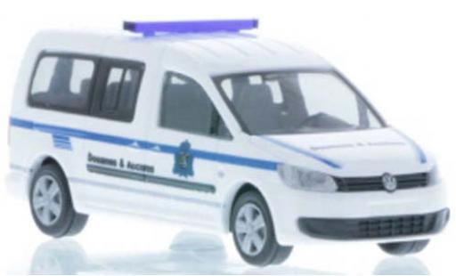Volkswagen Caddy 1/87 Rietze Maxi Zoll (LU) 2011 diecast model cars