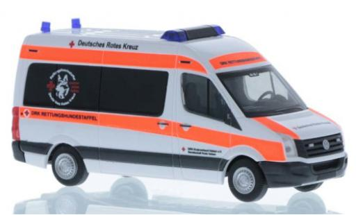 Volkswagen Crafter 1/87 Rietze DRK Rettungshundestaffel Uelzen 2011 modellautos