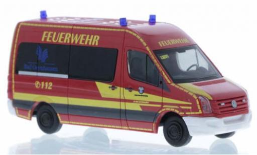 Volkswagen Crafter 1/87 Rietze Feuerwehr Bad Oeynhausen 2011 diecast model cars