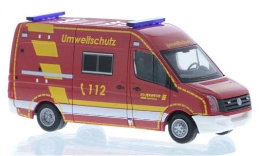 Volkswagen Crafter 1/87 Rietze Feuerwehr Wuppertal - Umweltschutz 2011 miniature