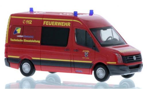 Volkswagen Crafter 1/87 Rietze Katastrophenschutz Trier-Saarburg 2011 modellautos