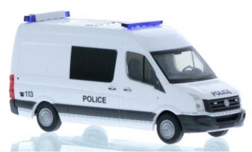 Volkswagen Crafter 1/87 Rietze Police (LU) 2011 coche miniatura