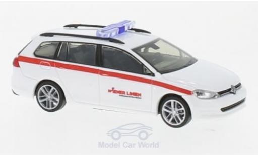 Volkswagen Golf V 1/87 Rietze 7 ariant Wiener Linien (A) modellino in miniatura