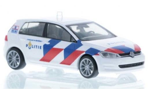 Volkswagen Golf 1/87 Rietze VII Politie (NL) miniature