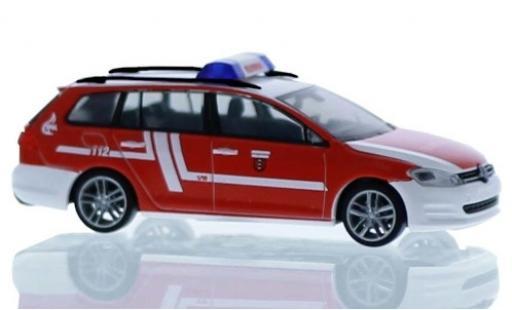 Volkswagen Golf 1/87 Rietze VII Variant Feuerwehr Fellbach coche miniatura