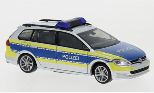 Volkswagen Golf 1/87 Rietze VII Variant Polizei Niedersachsen diecast model cars