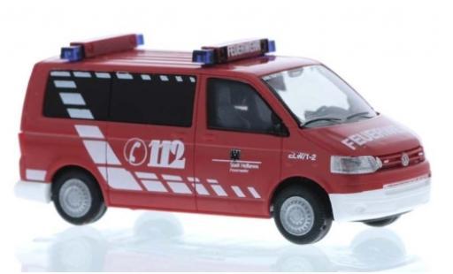 Volkswagen T5 1/87 Rietze Bus Feuerwehr Heilbronn miniature