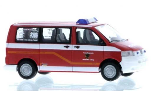 Volkswagen T5 1/87 Rietze Bus Feuerwehr Neustadt bei Coburg modellautos