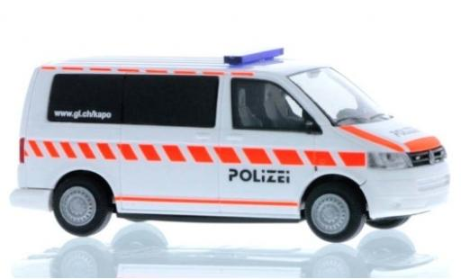 Volkswagen T5 1/87 Rietze Bus Kantonspolizei Glarus 2010 diecast model cars