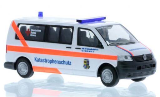 Volkswagen T5 1/87 Rietze Bus Katastrophenschutz DRK Schmalkalden modellautos