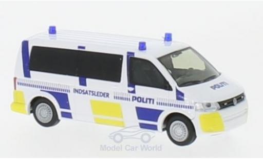 Volkswagen T5 1/87 Rietze Bus Politi 2010 diecast
