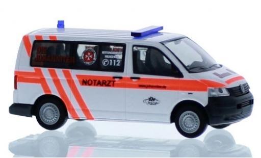 Volkswagen T5 1/87 Rietze Die Johanniter Hildesheim - Notarzt 2003 miniature